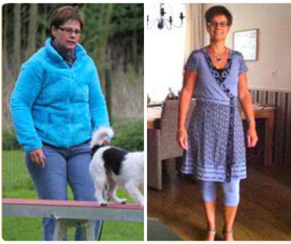 Angelique viel 12,3 kilo af in 12 weken met behulp van het Dline dieet.